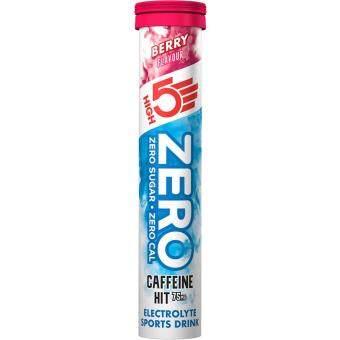 High5 Zero Caffeine Hit Electrolyte Berry 20 Tabs [Previously Known as High5 Zero Xtreme Electrolyte Drink Tabs Berry]