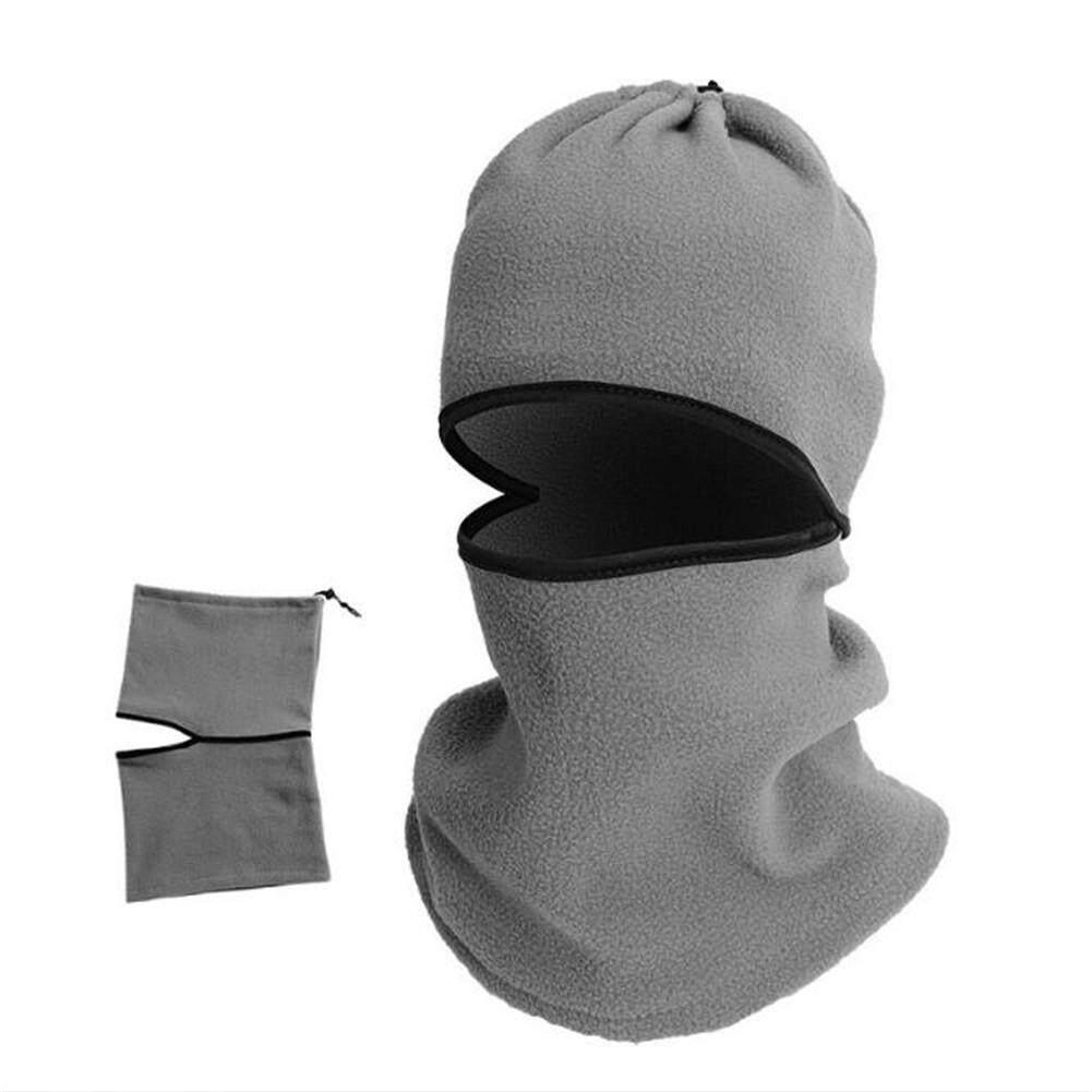 Ga กลางแจ้งหมวกไหมพรมคลุมหัวทางทหารหมวกรถจักรยานยนต์การปั่นจักรยานการเล่นสกีคออุ่น Gaiter หน้ากากใบหน้าเต็มรูปแบบ By Gardenia Store.