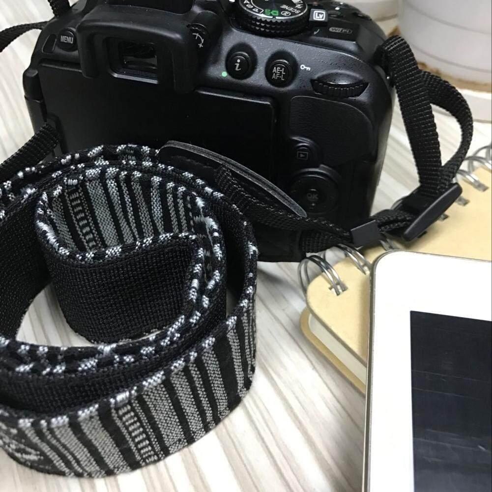 ... Vintage Shoulder Neck Belt Strap for Canon Nikon Sony SLR DSLR(Grey) - 5
