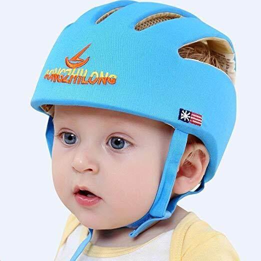 Helm Bayi Keselamatan Helm Pelindung untuk Bayi Gadis Kapas Bayi Perlindungan Topi Anak untuk Anak Laki-laki Anak Perempuan Capacete Infantil