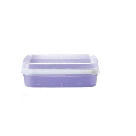 Tupperware Ezy Rect Keeper (1) 2.0L - Purple