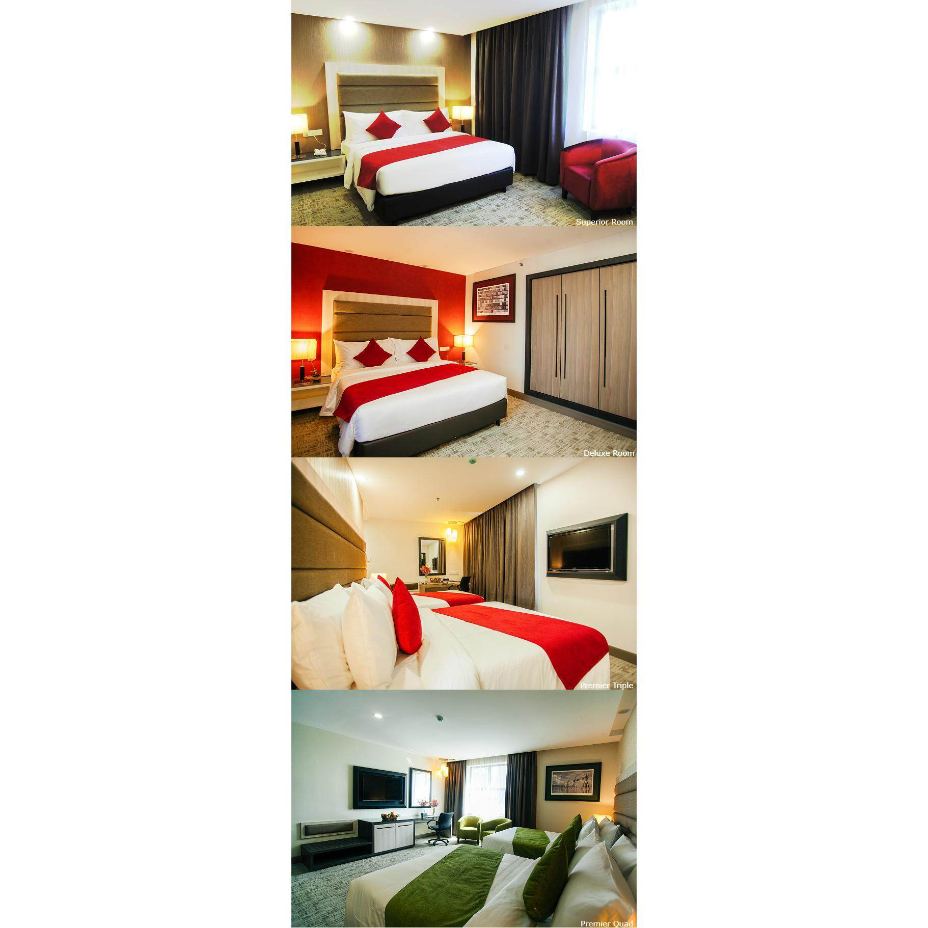 [Hotel Stay/Package] 2D1N Verdant Hill Hotel FREE Breakfast (Bukit Bintang)
