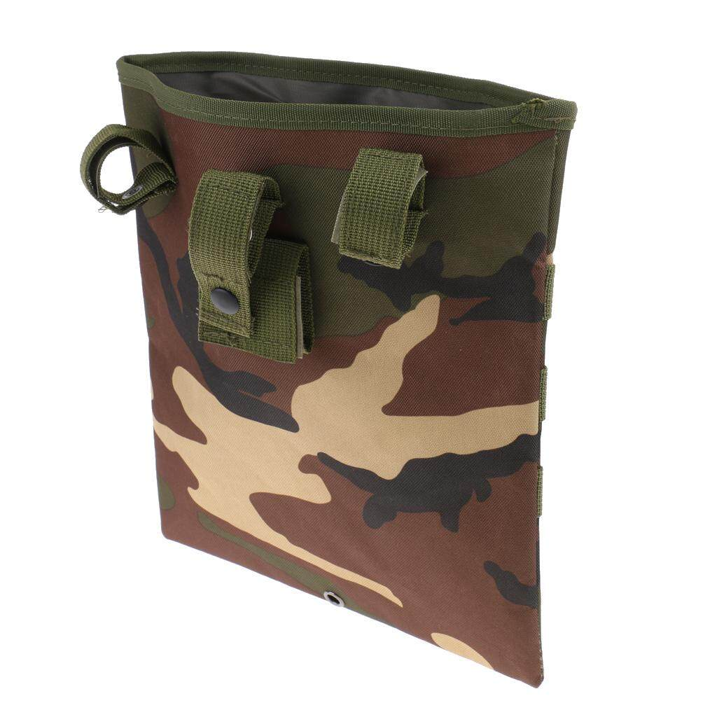 Flameer Outdoor Molle Tactical Utility Storage Bag Waist Belt Drop Pouch  Camo A e0ae68fe06