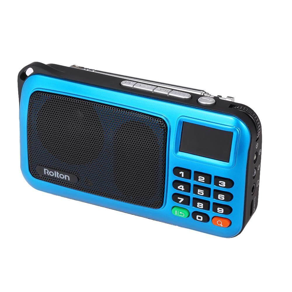 Rolton W405 FM Digital Radio Portable USB Wired Computer Speaker HiFi Stereo Receiver .