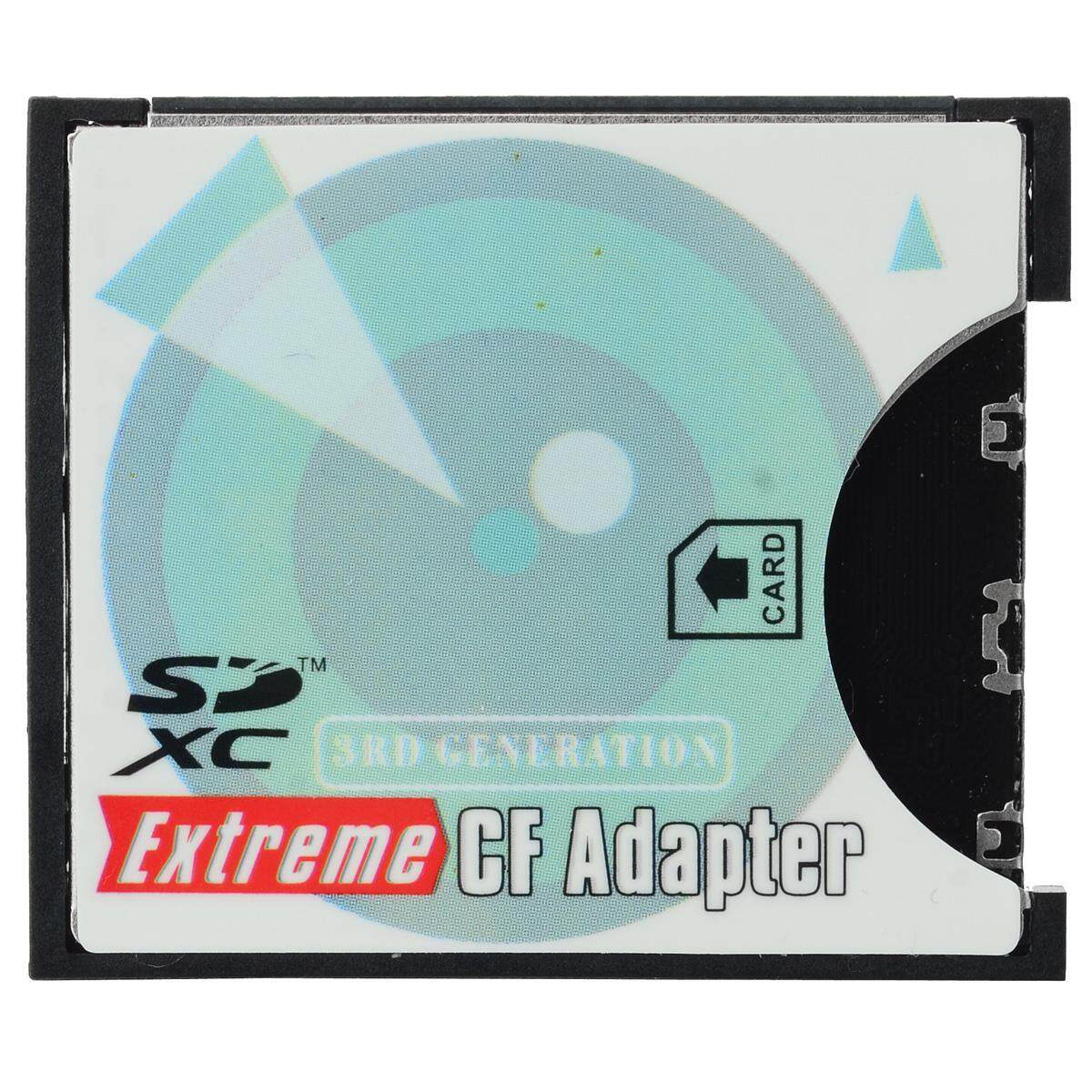 EP-025 SD SDHC SDXC to Extreme Compact Flash CF Type II Adapter - intl
