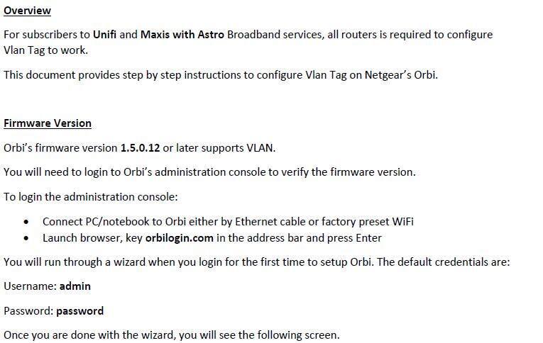 Netgear Orbi High Performance AC3000 Tri-band WiFi System - RBK50