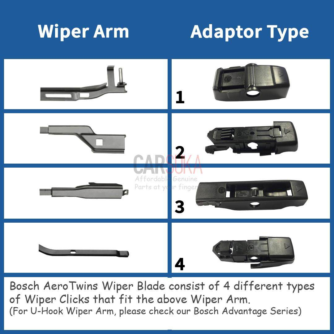 bosch aerotwins wiper blade set for ford fiesta 2009. Black Bedroom Furniture Sets. Home Design Ideas