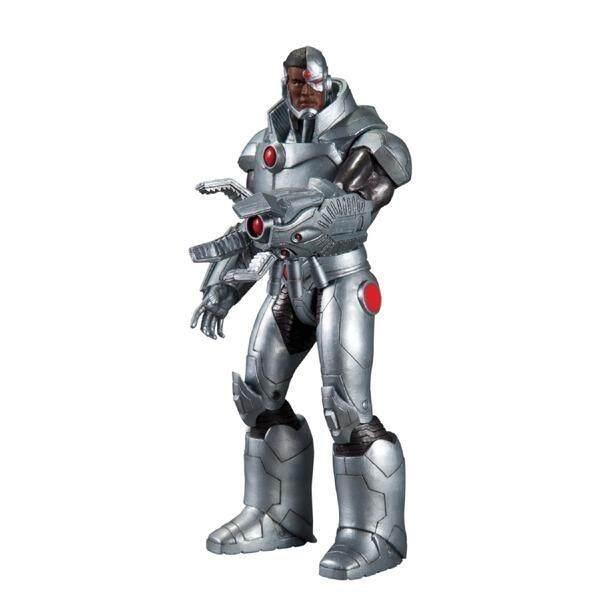 DC Collectibles Justice League : Cyborg Action Figure, Multicolor (AUG120305) (MPH)