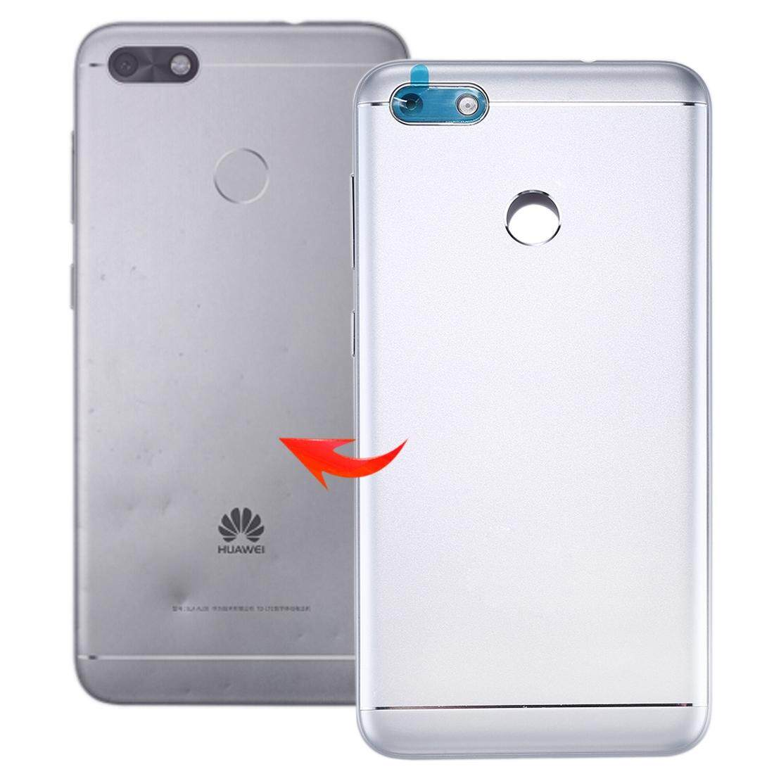 for Huawei Enjoy 7 / P9 Lite Mini / Y6 Pro (2017) Back Cover(Silver)