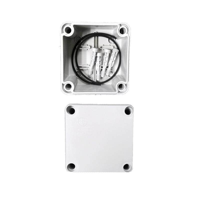 "LittleThingy 4"" x 4"" Waterproof PVC Electric / Weatherproof Electronic Project Enclosure Junction Box / Case"