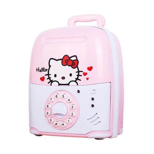 (Hello Kitty)Multifunctional Trolley Case Mischief Money Saving Box