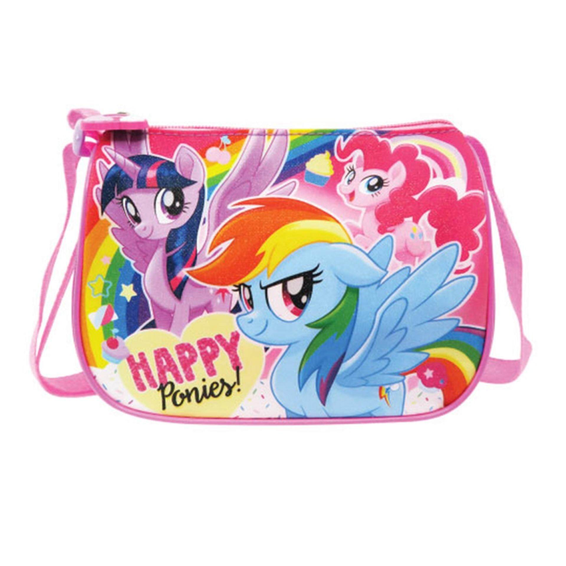 My Little Pony Square Sling Bag - Happy Ponies