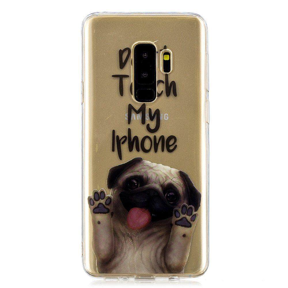 Fitur For Samsung Galaxy S9 Plus Clear Soft Cute Cartoon Pattern