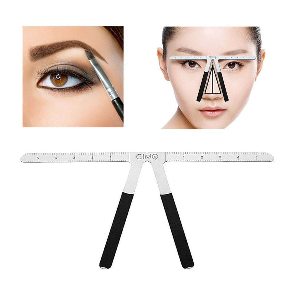 OXOQO Eyebrow Ruler,Three-Point Positioning Positioning Ruler,Permanent Makeup Symmetrical Tool Professional Caliper Grooming Stencil Shaper Balance Eyebrow Drawing Template Eyebrow Shaping Tool Philippines