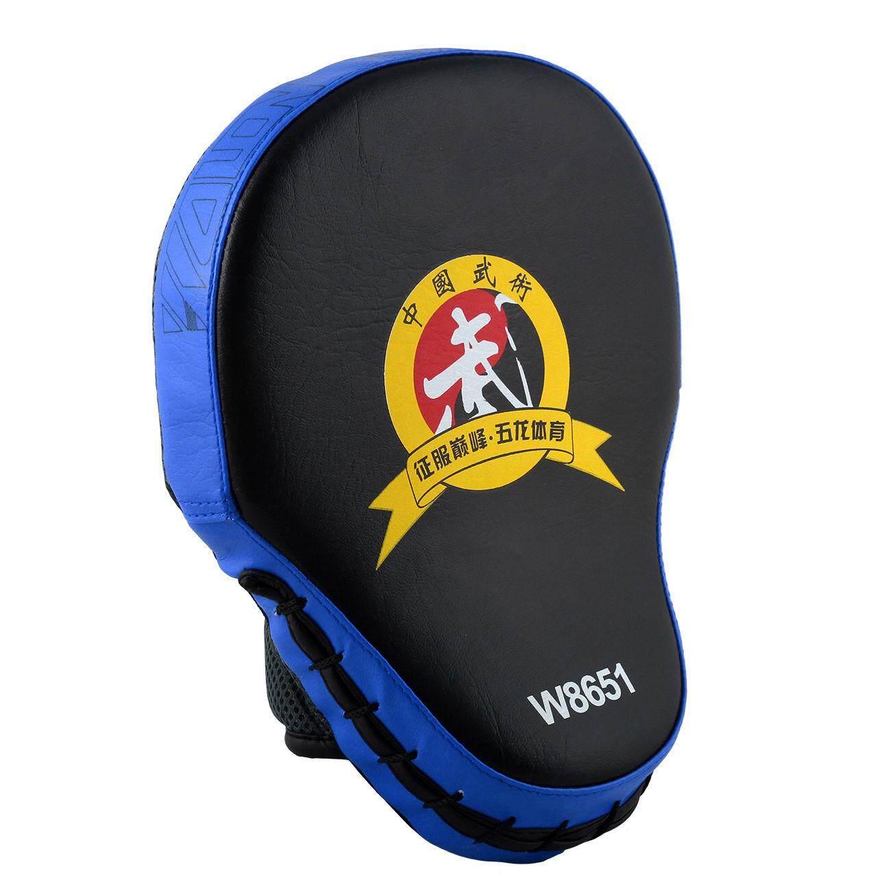 Miracle Shining Thai MMA Training Boxing Mitt Glove Karate TKD Kick Target Punch Pad Blue
