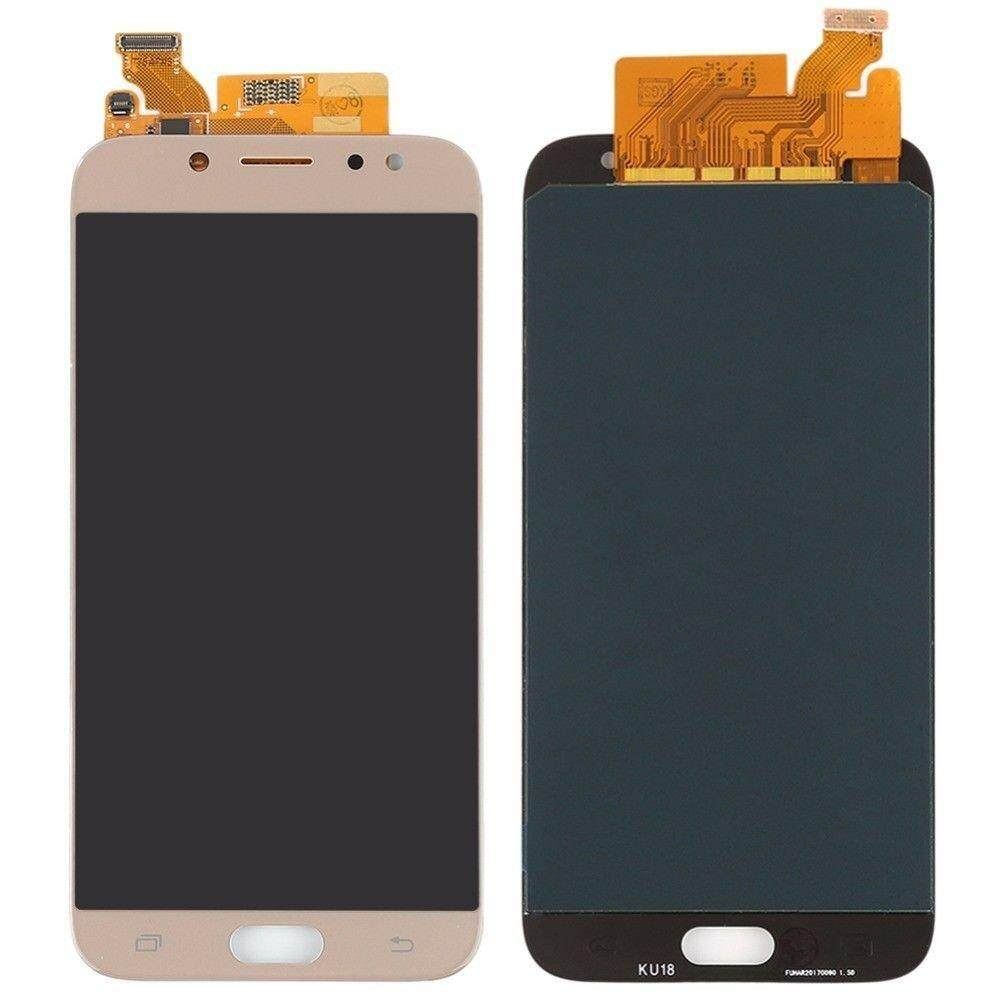 Top Screen LCD For Samsung Galaxy J7 Pro 2017 J730 J730F LCD Display Touch Screen Digitizer Assembly Brightness Adjustment