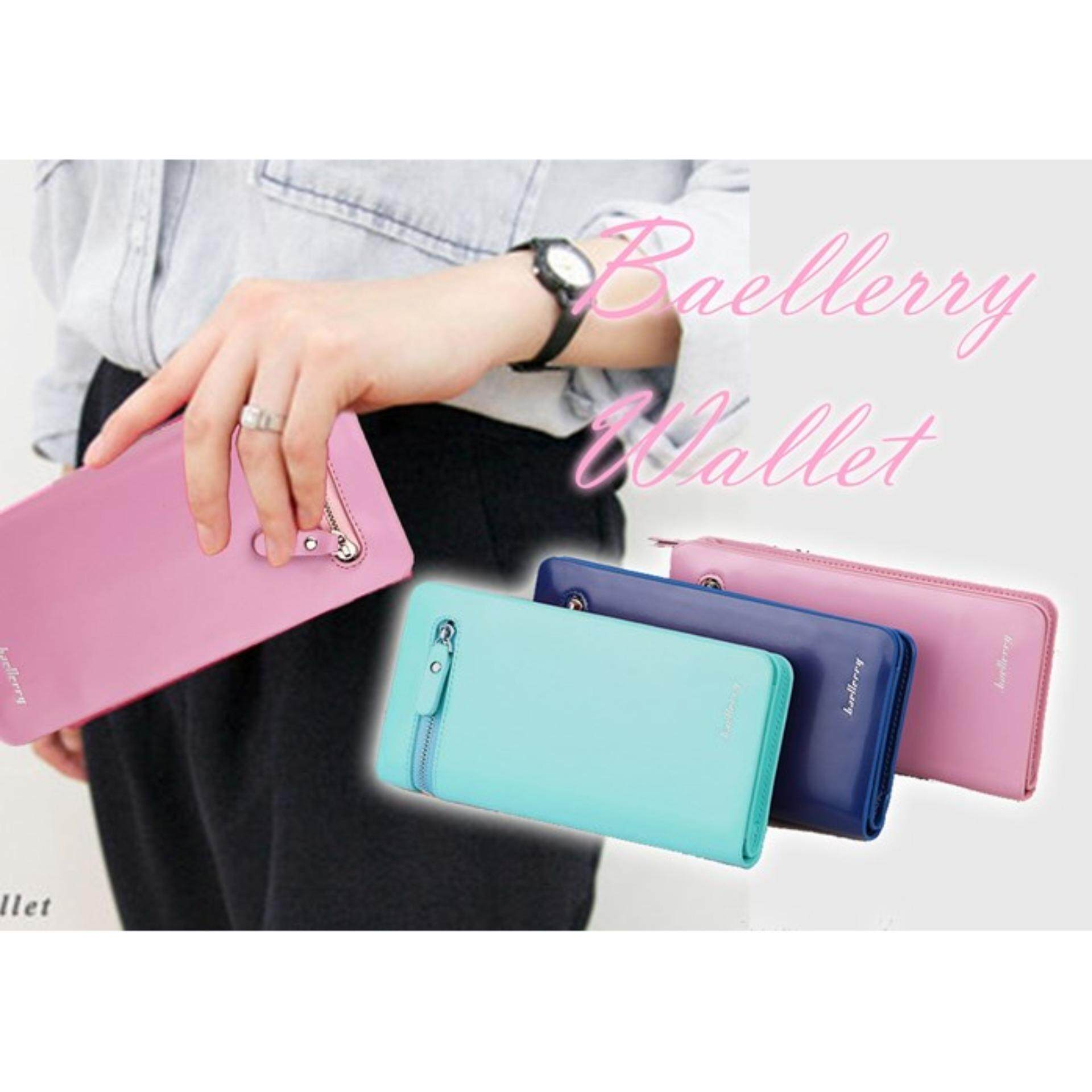 Fashion Baellerry Wallet Lady Women Wallets (Pink)