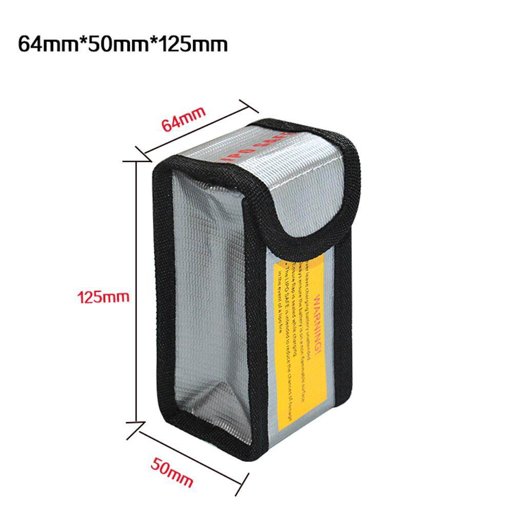 Cocolmax Lipo Li - Po แบตเตอรี่ป้องกันปลอดภัยกระเป๋าเก็บรักษา 64*50*125 มิลลิเมตร By Cocolmax.