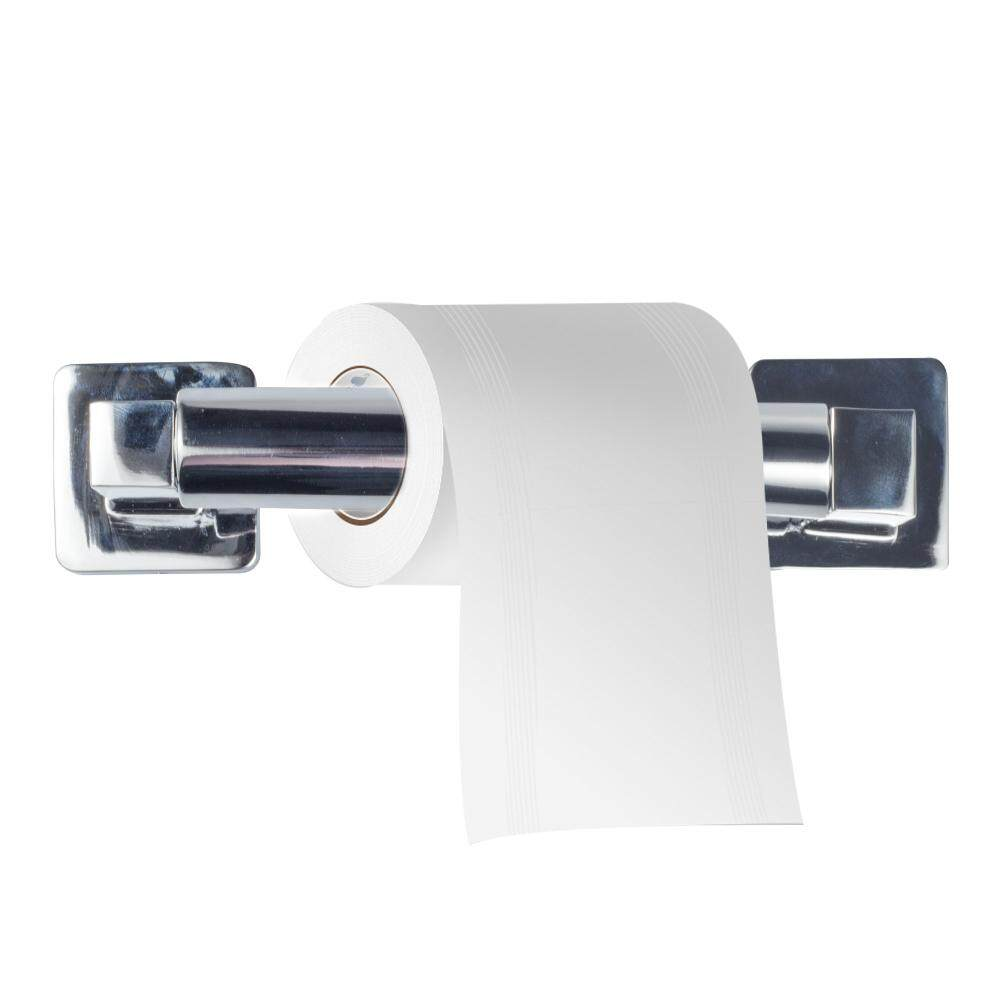 Double Square Toilet Paper Roll Stainless Steel Durable and Mmultifunctional Toilet Paper Holder Easy to Install