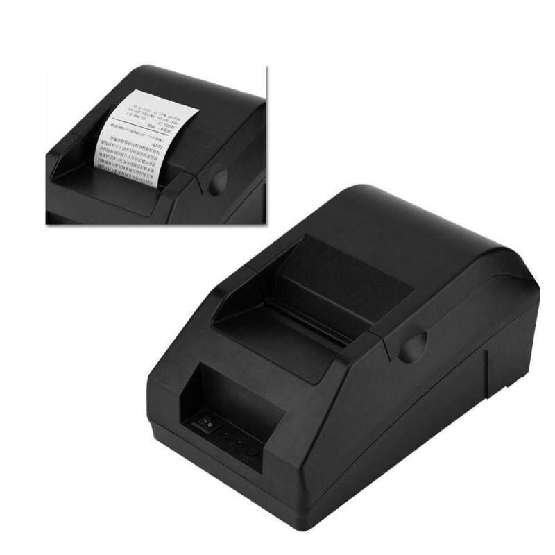 Justgogo Thermal Bill Printer Cash Register Order USB Bluetooth Printer For Android and IOS Printer 110-240V UK - intl