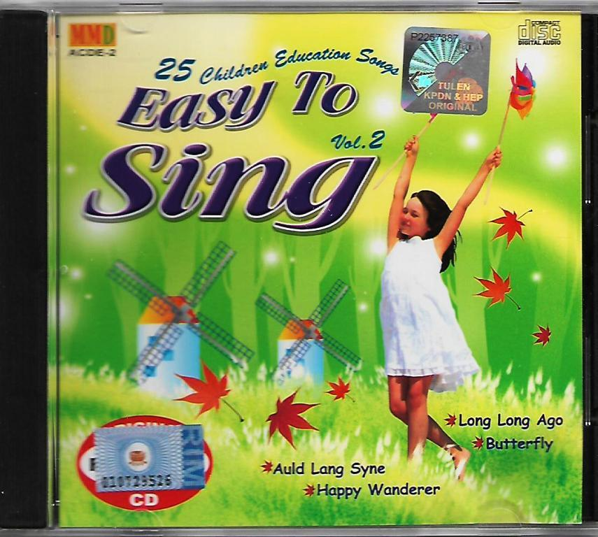 25 Children Education Songs Easy To Sing Vol.2 CD