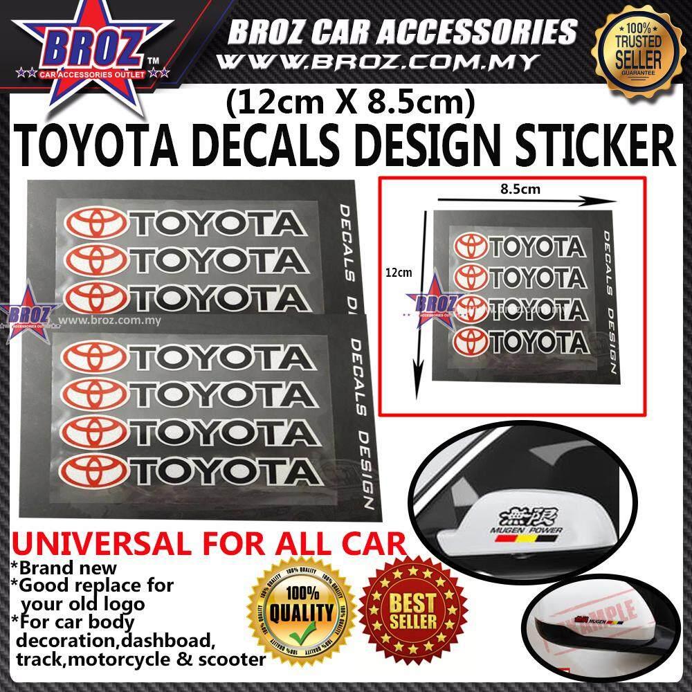 TOYOTA Decals Design Set Sticker
