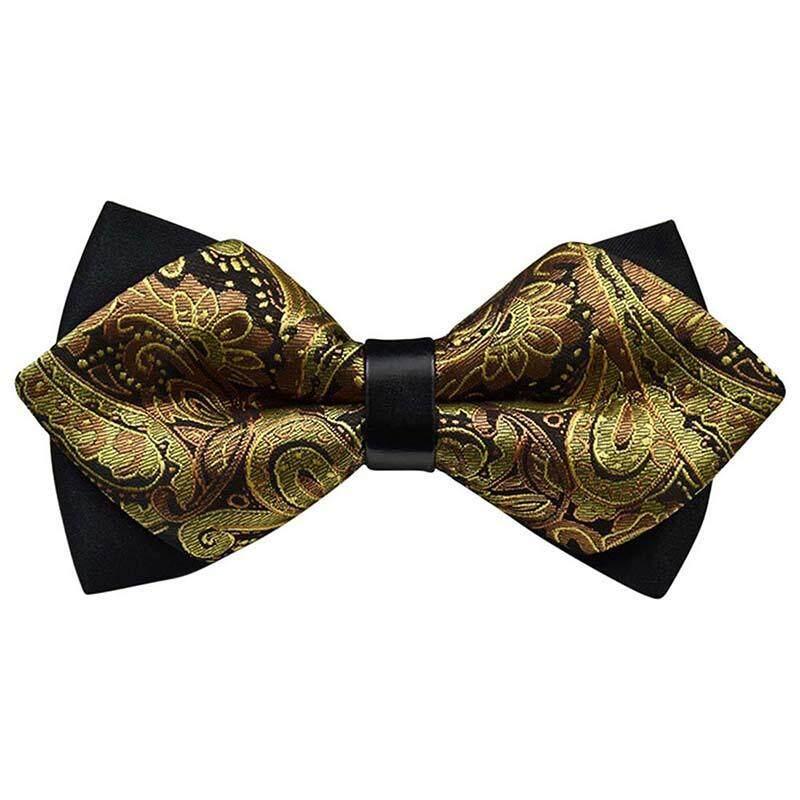 Men Bow Tie Tie Adjustable Classic Bow Tie For Wedding / Party / Ceremony 12 - Intl By Sunnny2015.