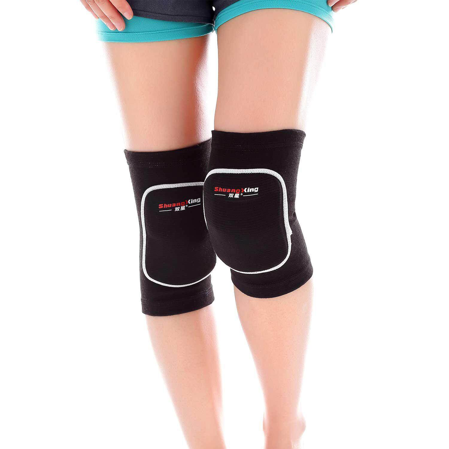 e20632f19c OutFlety Knee Pads Protective Thick Sponge Anti-Collision Kneepads Dance Volleyball  Knee Pads Support Sleeve