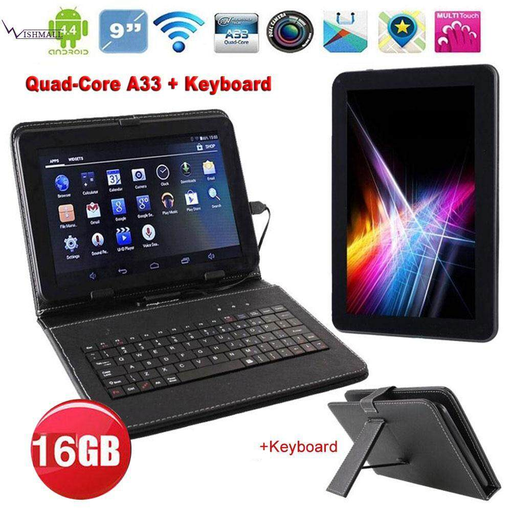 N98 9 Android 4.4 Tablet PC Quad Core 1GB 16GB +Keyboard Bundle AU Black Malaysia