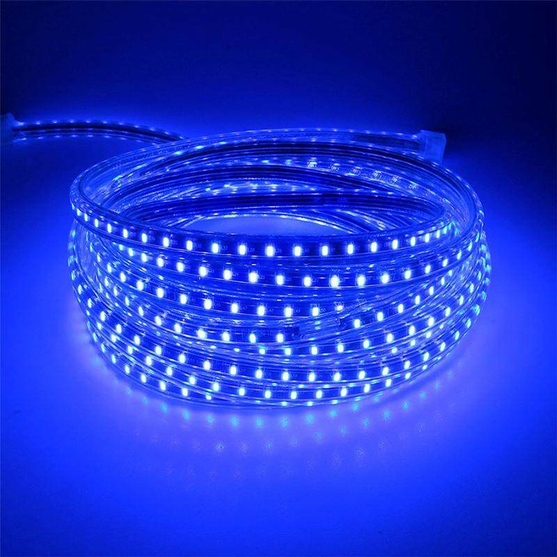 5050 Led Strip IP65 Waterproof 60LED 220V Warm White Color (5 Meter)