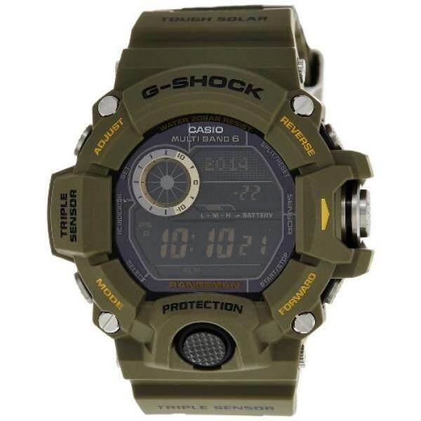 Casio Pria G SHOCK Rangeman Sensor Rangkap Tiga GW9400 GW-9400-3D-Intl