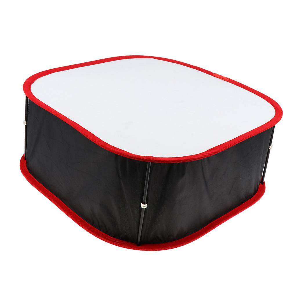 Miracle Shining Foldable Softbox Diffuser for Yongnuo YN900/600 LED Video Light Panel Red
