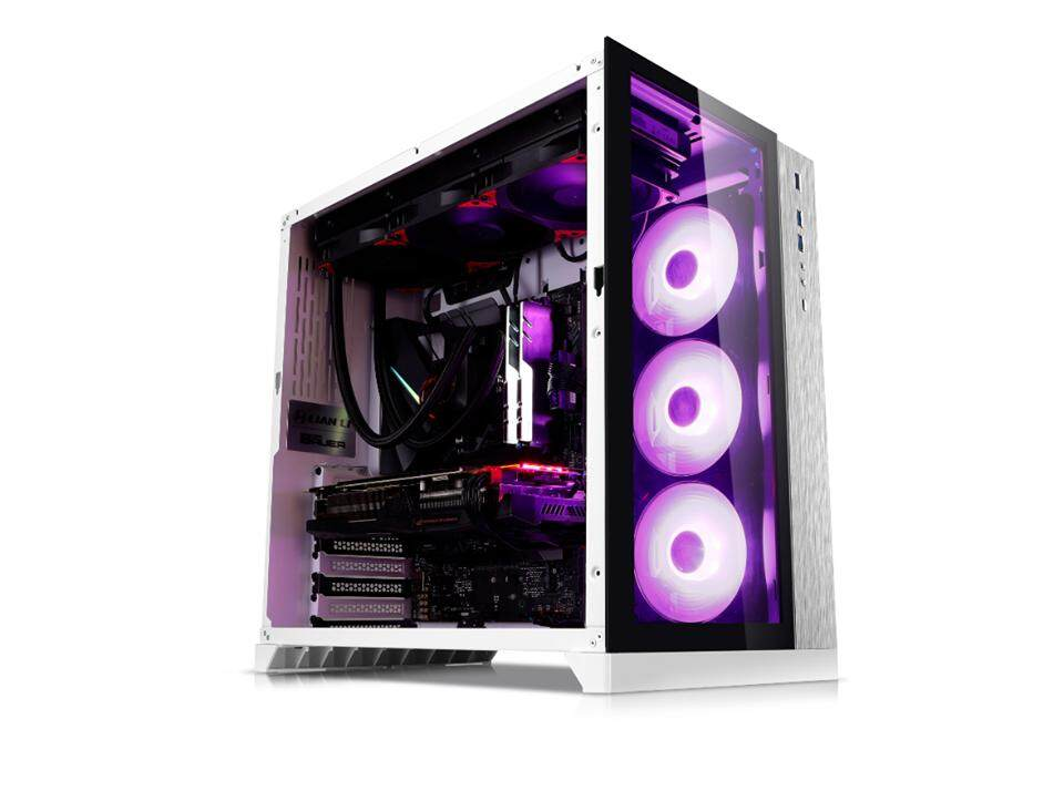 Lian Li PC-O11 Dynamic Tempered Glass E-ATX Casing - White Malaysia
