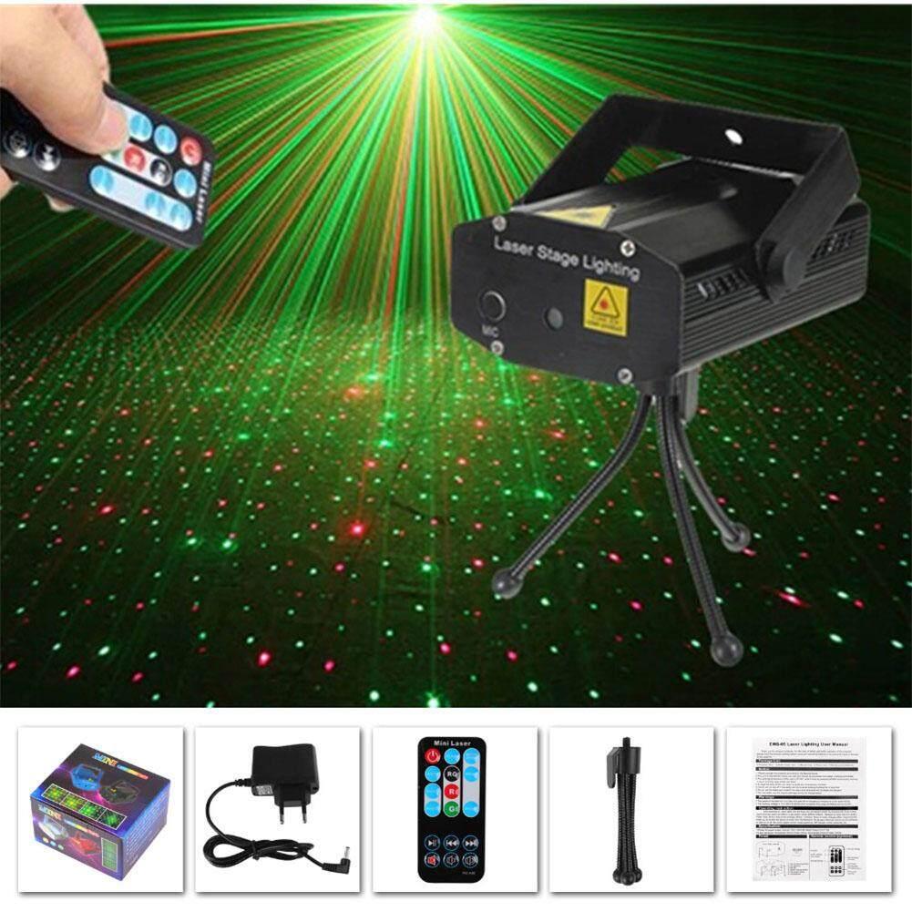 SA LED Black Remote Control Starry Sky Stage Laser Light DJ Club Disco Projector Festival Decoration