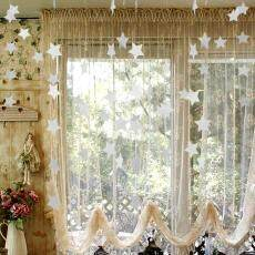Star Hanging Decoration Sparkling Stars Wedding Party Children's Rooms Mosquito Curtain Curtain Living Room Bedroom Window