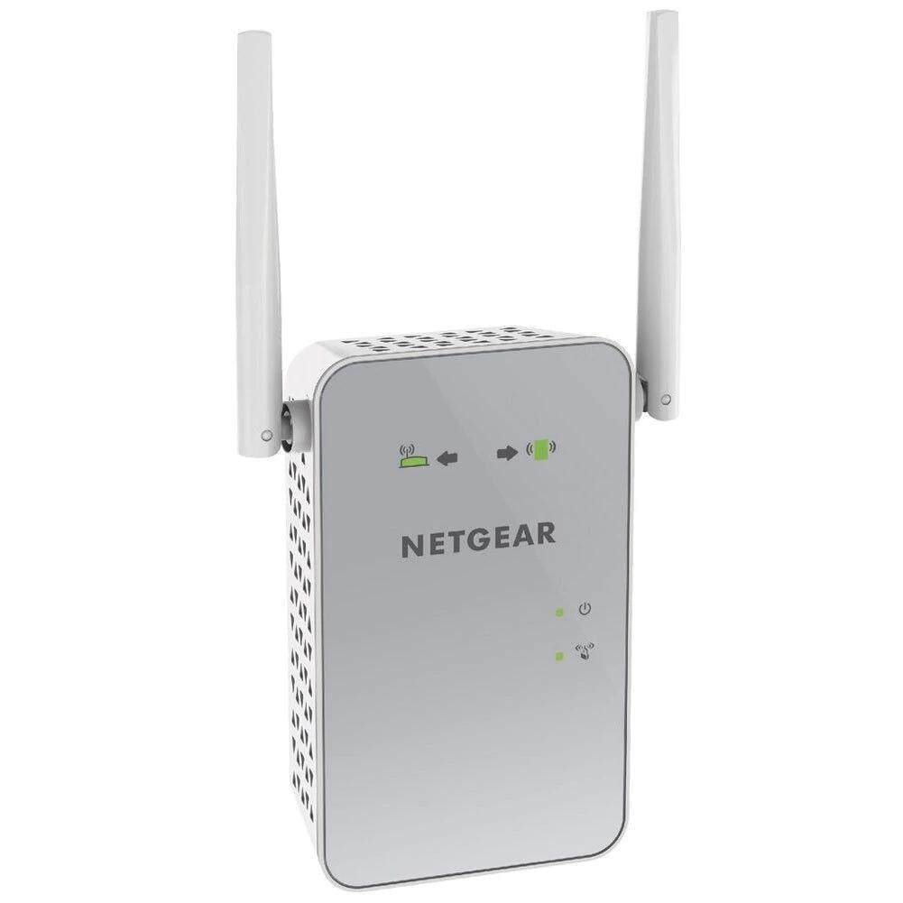 NETGEAR AC1200 WiFi Range Extender 1200Mbps Dual Band Wireless AC1200 v2  2 4G/5GHz(EX6150-100NAS)2 4 and/or 5GHz 802 11 a/b/g/n/ac WiFi