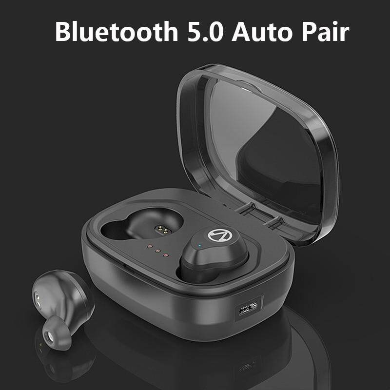 Ipx7 Waterproof Wireless Headphones Bluetooth 5.0 Auto Pair Earbuds Siri Control Headset With Mic Swimming Earphones For Shower By Baseus Digital Store.