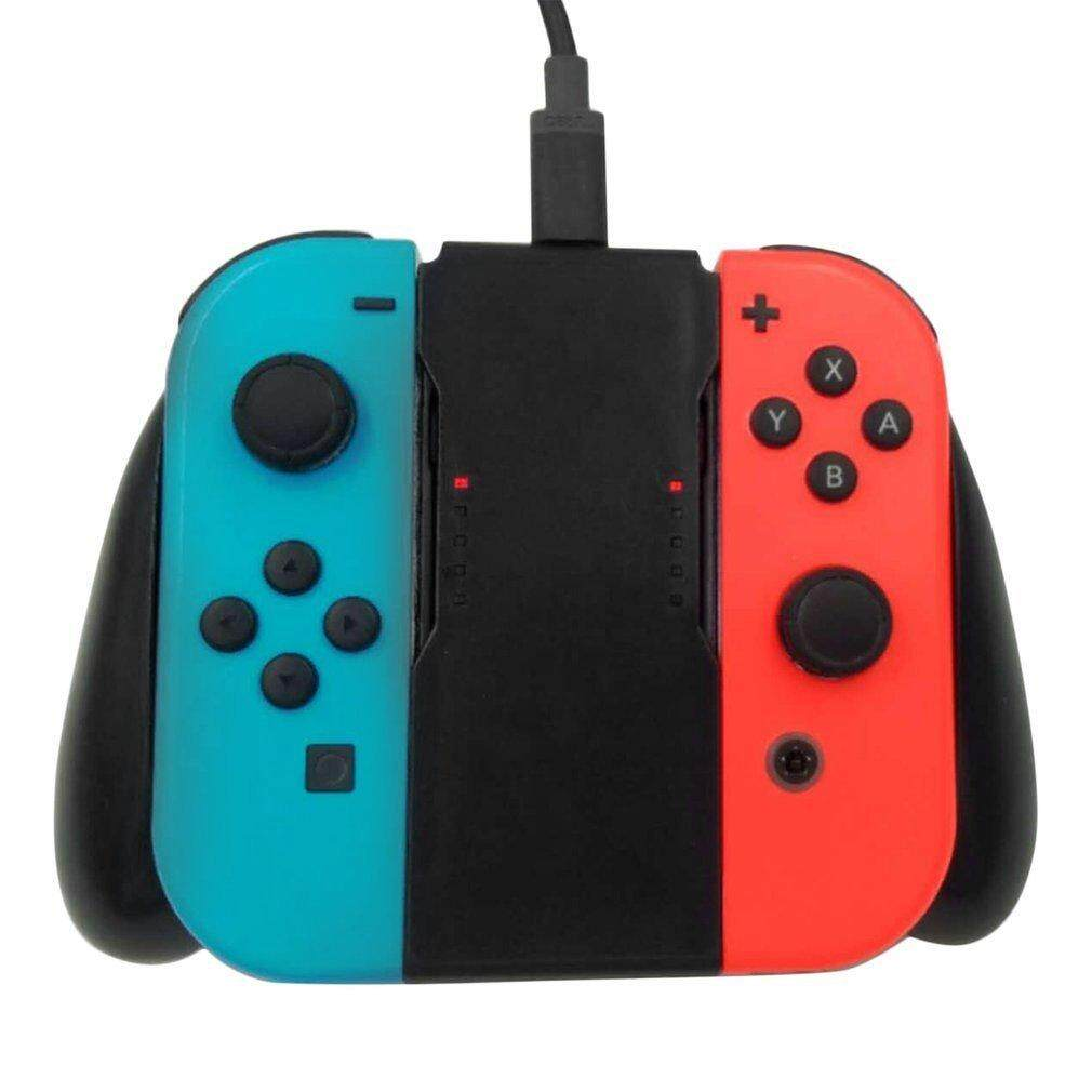 Hình ảnh Comfort Grip Handle Charging Station For Nintendo Switch Joy-Con Charger