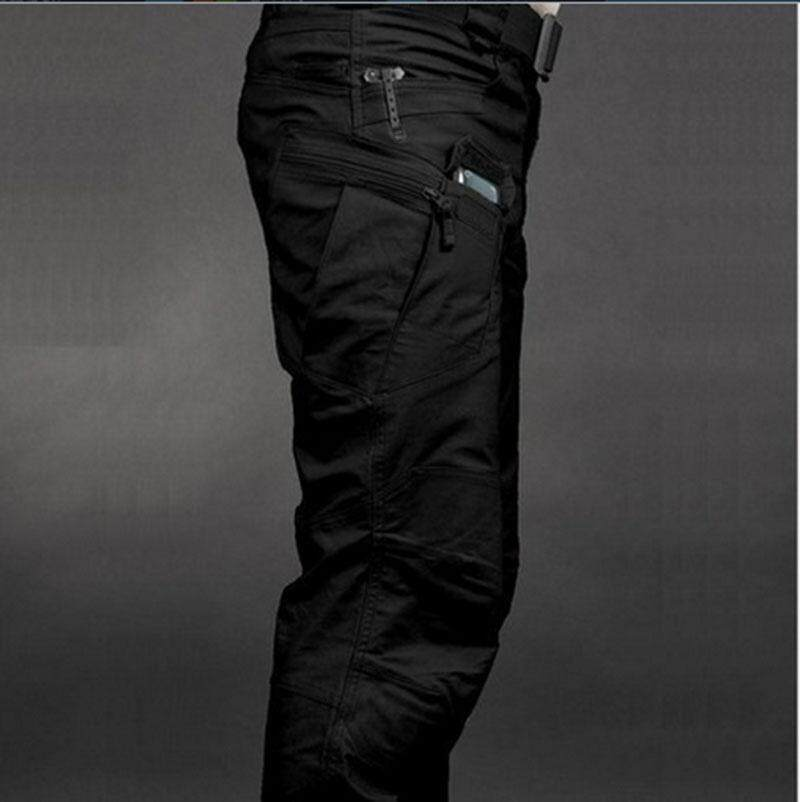 Tactical Cargo Pants Swat Trousers Combat Multi-Pockets Pants Training Overalls Mens Cotton Pants S-Xxl - Intl By Hanyaming.