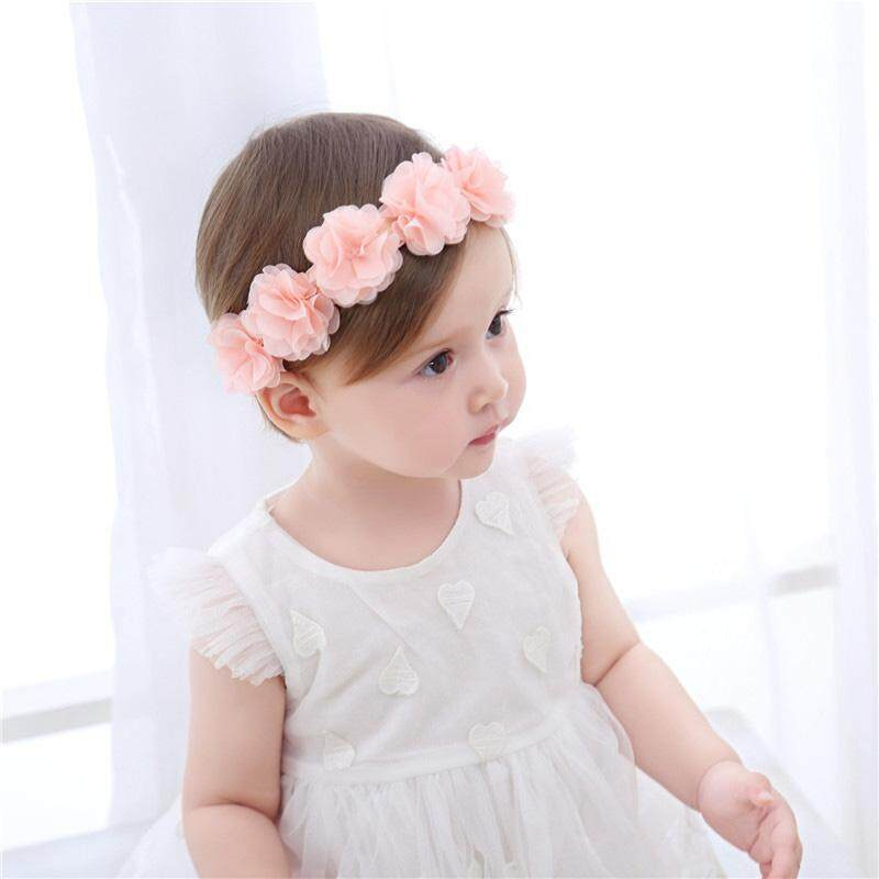 Newborn Baby Headband Photography Props Baby Girl Princess Flower Headband  Solid Color Hair Band Accessories a72fcdc2eaf