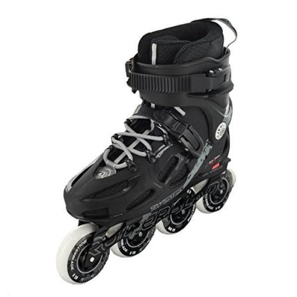 Sepatu Roda 2014 Twister 80 Urban Sepatu Hitam/Abu-abu, 7-Intl