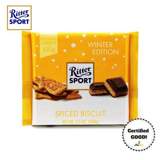 Ritter Sport Spiced Biscuit [Winter Edition] 100g