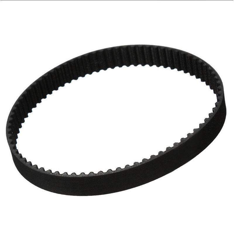 Closed Rubber Loop GT2 Timing Belt Pulley For RepRap 3D Printers 6mm Width - intl