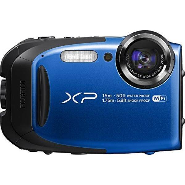 Fujifilm FinePix XP80 Waterproof Digital Camera with 2.7-Inch LCD (Blue) - intl