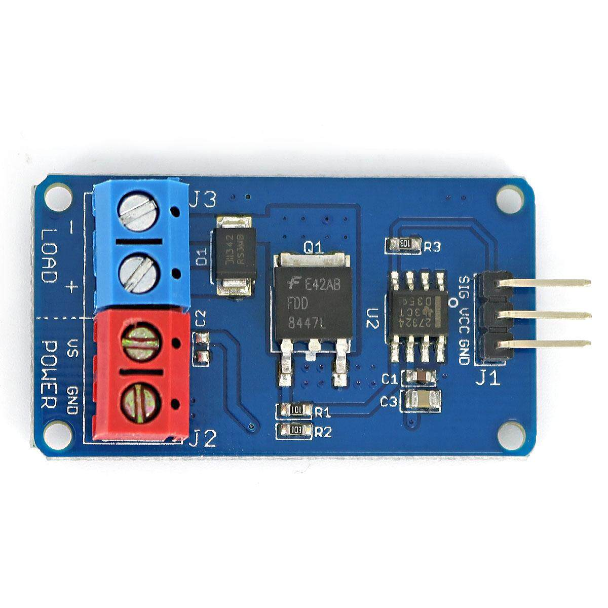 High-Current Mosfet Fan/motor/led Strip Driver Module For Arduino Avr By Infinite-Deals