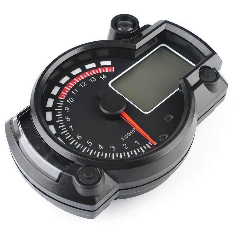 New 7-Color Led Motorcycle Rx2n Atv Lcd Digital Speedometer Tachometer Meter 15000rpm By Benefitwen.