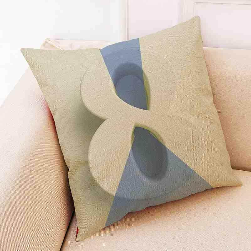 Sway Digital Printing Style Cushion Covers Modern Sofa Bed Pillow Cases 45*45cm - intl