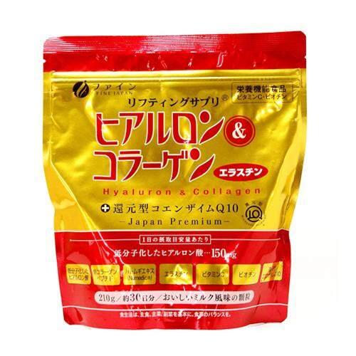 Japan Premium FINE Hyaluron & Collagen 210g