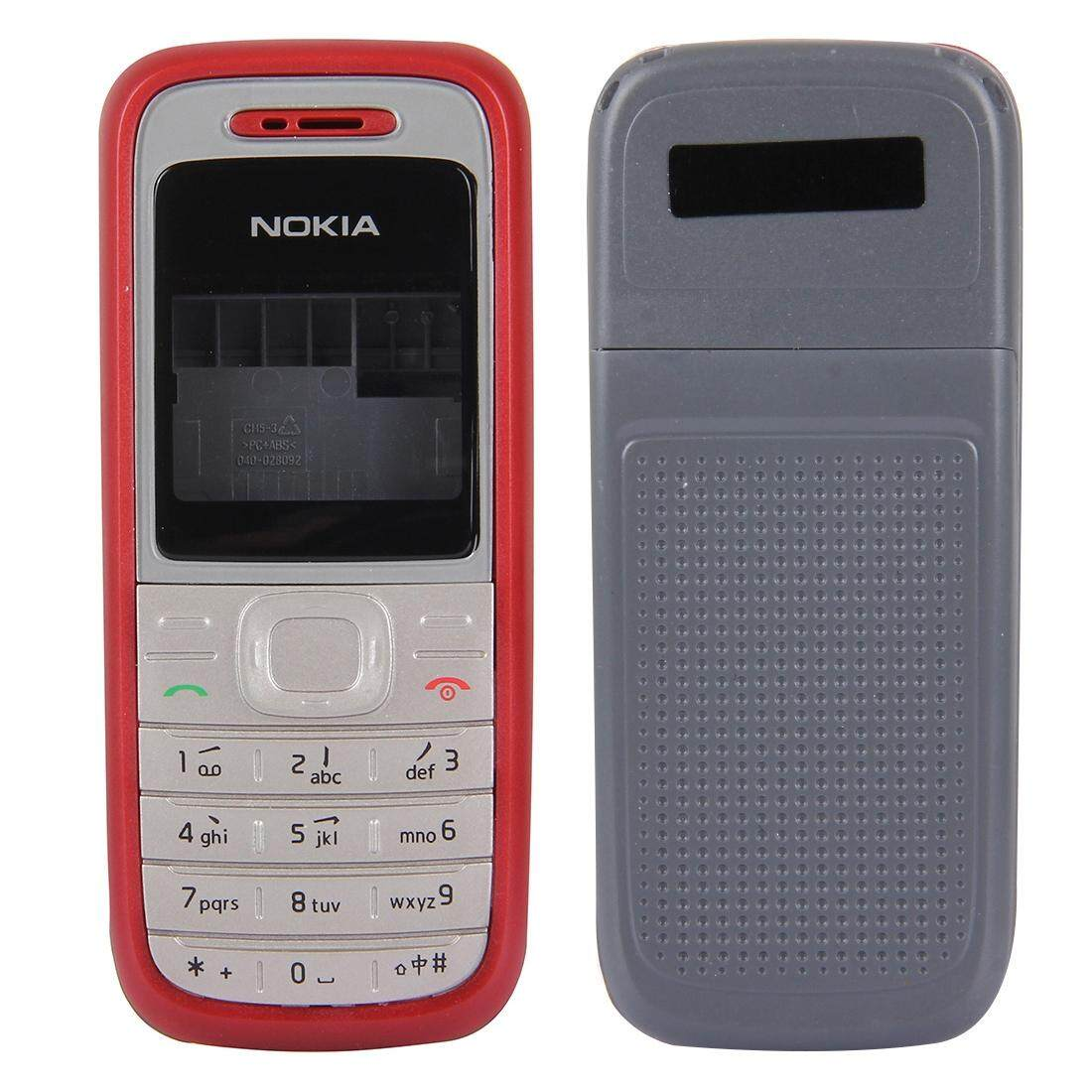 Full Housing Cover (Front Cover + Middle Frame Bazel + Back Cover) for Nokia