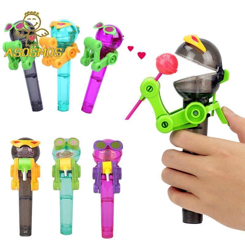 ASM Kids Ăn Robot Kẹo Mút Công Cụ Đứng Kẹo Chống Bụi Quà Tặng Đồ Chơi Trẻ Em Đang Ưu Đãi